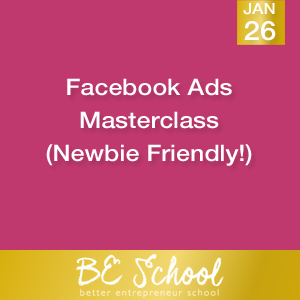 Facebook Ads Masterclass Newbie Friendly